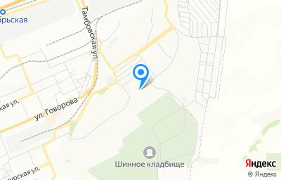 Местоположение на карте пункта техосмотра по адресу г Красноярск, ул 4-я Шинная, д 20