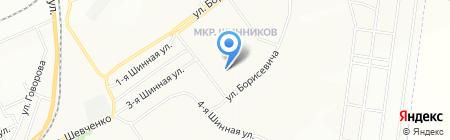 Детский сад №324 на карте Красноярска