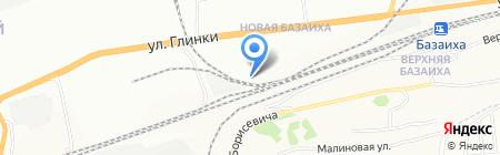 Америма на карте Красноярска