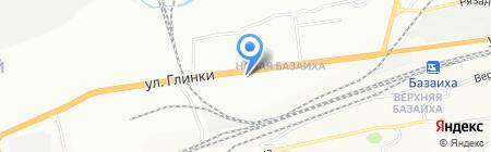 Лаванда на карте Красноярска