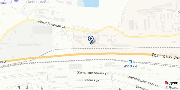 Аванта на карте Березовке