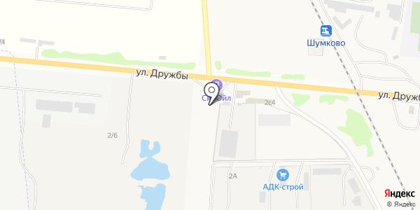 АЗС Сибойл. Схема проезда в Березовке