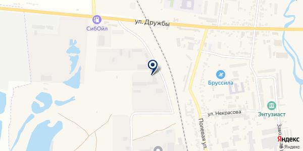 Завод МАК на карте Березовке