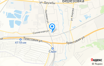 Местоположение на карте пункта техосмотра по адресу Красноярский край, пгт Березовка, ул Полевая, зд 2Ж