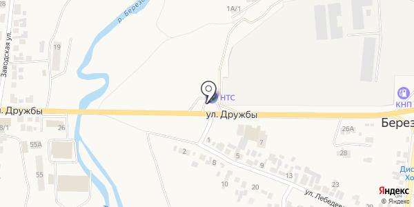 АЗС. Схема проезда в Березовке