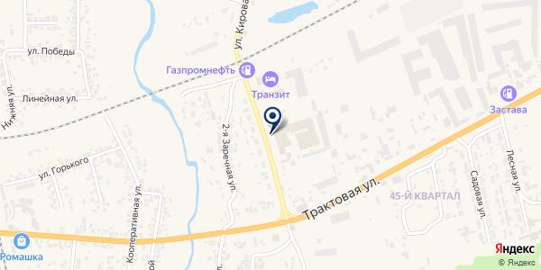 Полезная газета на карте Березовке