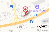 Схема проезда до компании ПлатеЖКа в Березовке