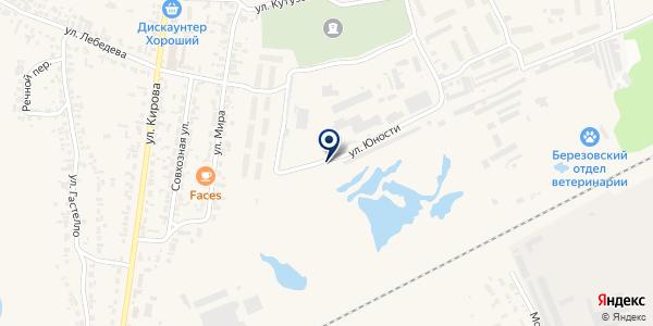 Торговая компания на карте Березовке