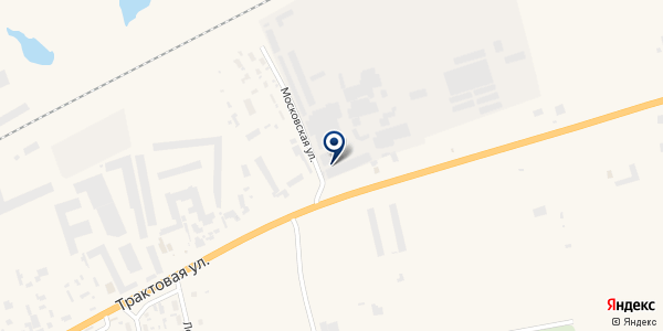 Док-Енисей на карте Березовке