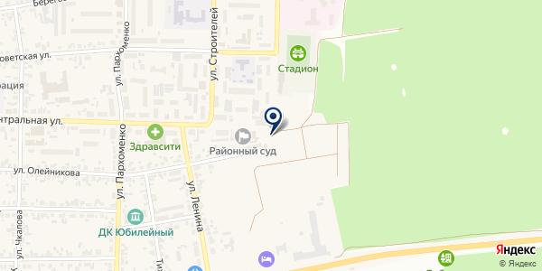 Межпоселенческая библиотека Березовского района на карте Березовке