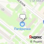 Магазин салютов Сосновоборск- расположение пункта самовывоза