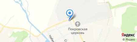 Участковый пункт полиции на карте Бархатово