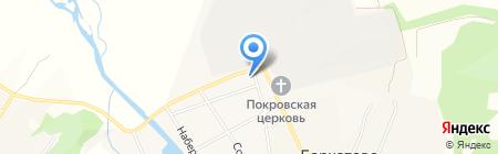 Администрация с. Бархатово на карте Бархатово