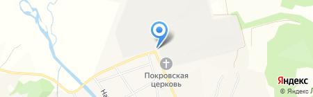 Бархатовская на карте Бархатово