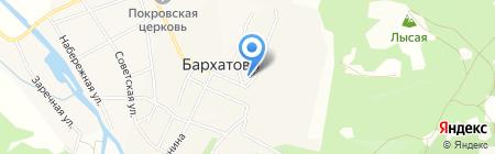Бархатовская врачебная амбулатория на карте Бархатово