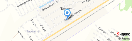 Возрождение АНО на карте Тартата