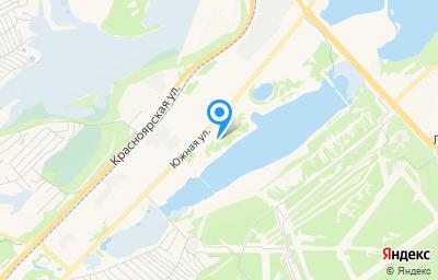 Местоположение на карте пункта техосмотра по адресу Красноярский край, г Железногорск, ул Южная, д 40/2