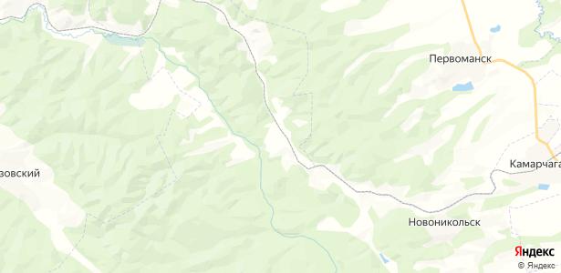 Новосельск на карте