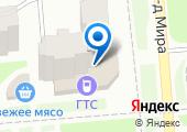 Городская телефонная сеть, МП на карте