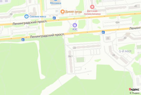 продажа квартир Ленинградский 26