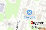 Схема проезда до компании Био-Веста Красноярск в Железногорске