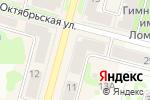 Схема проезда до компании Скат-электрик в Железногорске