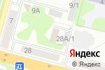 Схема проезда до компании Адвокатская консультация №47 в Железногорске
