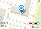 Банкомат АКБ Росбанк на карте