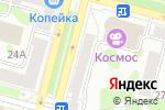 Схема проезда до компании Обувнофф в Железногорске