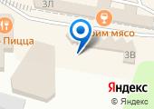 Автостоянка на проспекте Курчатова на карте