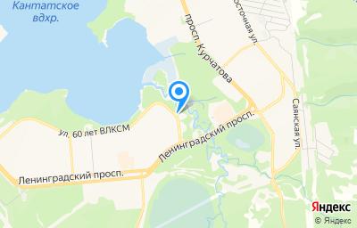 Местоположение на карте пункта техосмотра по адресу Красноярский край, г Железногорск, ул 60 лет ВЛКСМ, д 7 стр 1