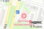 Схема проезда до компании Детская поликлиника в Железногорске