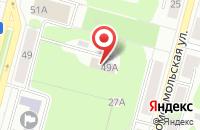 Схема проезда до компании Русский Север в Череповце