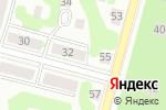 Схема проезда до компании Визит в Железногорске