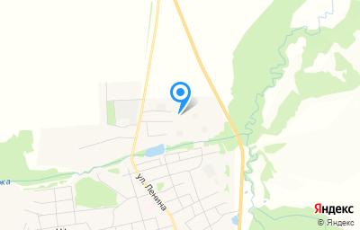 Местоположение на карте пункта техосмотра по адресу Красноярский край, с Шалинское, ул АТП, д 13