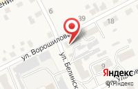 Схема проезда до компании Куровской Городской Рынок, МУП в Куровском