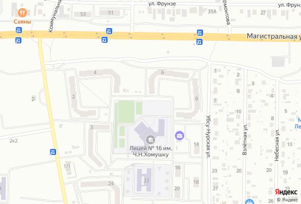 жилой комплекс по ул. Убсу-Нурская, 6 (микрорайон Спутник)