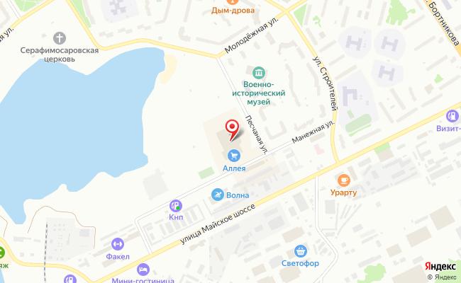 Карта расположения пункта доставки СИТИЛИНК в городе Зеленогорск