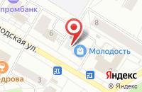 Схема проезда до компании Инфо-Центр в Зеленогорске
