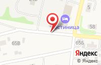 Схема проезда до компании МУП ЖКХ в Заозерном