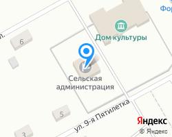 Схема местоположения почтового отделения 663624