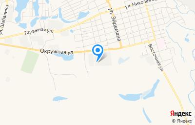 Местоположение на карте пункта техосмотра по адресу Красноярский край, г Канск, ул Окружная, д 4 стр 2