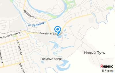 Местоположение на карте пункта техосмотра по адресу Красноярский край, г Канск, ул Линейная, зд 9 стр 8