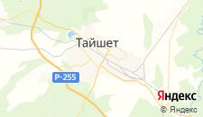 Отели города Тайшет на карте