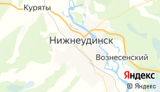 Отели города Нижнеудинск на карте
