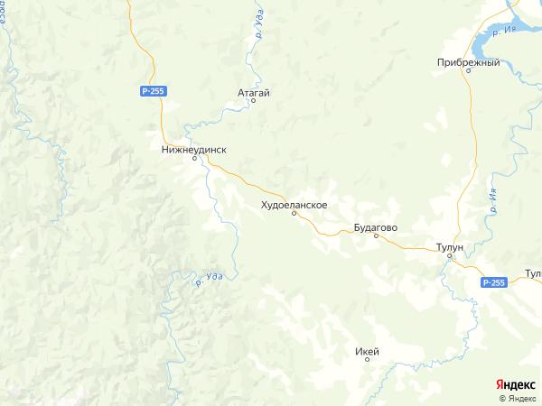 поселок железнодорожной станции Кадуй на карте