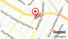 Отель Hotel Recanto das Perdizes на карте