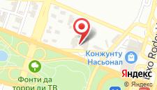 Отель Kubitschek Plaza Hotel на карте