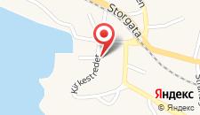 Отель Lysko Gjestegård на карте