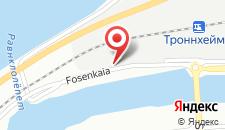 Отель P-Hotels Brattøra на карте